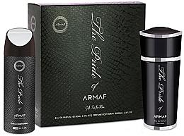 Parfums et Produits cosmétiques Armaf The Pride Pour Homme - Set (eau de parfum/100ml + déodorant spray pour corps/200ml)