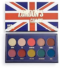 Parfums et Produits cosmétiques Palette de fards à paupières, 10 couleurs - Makeup Obsession London's Calling Eyeshadow Palette
