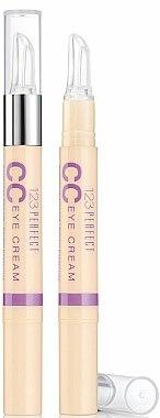 CC crème contour des yeux - Bourjois 123 Perfect CC Eye Cream — Photo N1