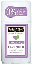 Parfums et Produits cosmétiques Déodorant stick Lavande - Indus Valley Lavender Deodorant Stick