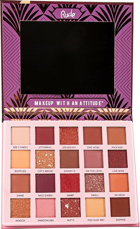 Palette de fards à paupières - Rude The Roaring 20's Eyeshadow Palette — Photo N2