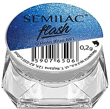 Parfums et Produits cosmétiques Poudre holographique pour ongles - Semilac Flash