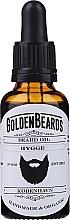 Parfums et Produits cosmétiques Huile à l'huile d'amande douce pour barbe, Hygge - Golden Beards Beard Oil