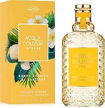 Parfums et Produits cosmétiques Maurer & Wirtz 4711 Acqua Colonia Intense Sunny Seaside Of Zanzibar - eau de cologne