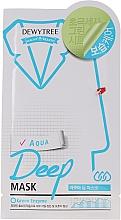 Parfums et Produits cosmétiques Masque tissu à l'extrait de lavande pour visage - Dewytree Aqua Deep Mask