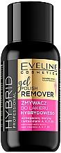 Parfums et Produits cosmétiques Dissolvant pour vernis semi-permanent - Eveline Cosmetics Hybrid Professional