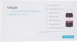 Parfums et Produits cosmétiques Cocktail éclaircissant pour traitement de mésothérapie pour visage - Charmine Rose Whitening Derm Meso Coctail
