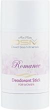 Parfums et Produits cosmétiques Déodorant stick anti-transpirant aux minéraux de la mer Morte - Mon Platin DSM Deodorant Stick Romance