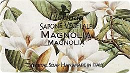 Parfums et Produits cosmétiques Savon naturel artisanal, Magnolia - Florinda Sapone Vegetale Magnolia
