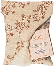 Parfums et Produits cosmétiques Sachet parfumé, Voile de cachemire - Collines de Provence Soft Cashmere