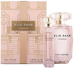 Parfums et Produits cosmétiques Elie Saab Le Parfum Rose Couture - Coffret cadeau (eau de toilette/90ml + eau de toilette/mini/10ml)