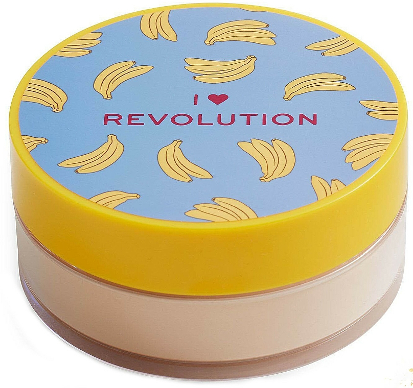 Poudre libre baking pour visage, Banane - I Heart Revolution Loose Baking Powder Banana