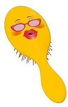 Parfums et Produits cosmétiques Brosse à cheveux 2003W, souris avec lunettes - IDC Design XL Detangle Brush
