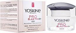 Parfums et Produits cosmétiques Crème de jour à l'acide hyaluronique, SPF10 - Yoskine Classic Pro-Elastin Day Cream 40+