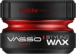 Parfums et Produits cosmétiques Cire coiffante - Vasso Professional Hair Styling Wax Resist