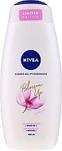 Parfums et Produits cosmétiques Gel douche à l'huile d'argan - Nivea Blossom Up Argan Oil & Sakura Nourishing Shower Gel Limited Edition