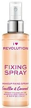 Parfums et Produits cosmétiques Spray fixateur de maquillage - I Heart Revolution Fixing Spray Vanilla & Coconut