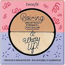 Parfums et Produits cosmétiques Correcteur et enlumineur pour visage - Benefit Cosmetics Boi-ing & Watt's up!