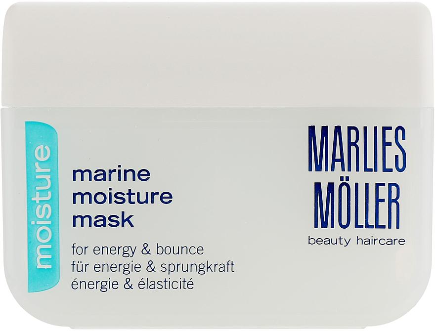 Masque à l'huile d'avocat pour cheveux - Marlies Moller Marine Moisture Mask — Photo N2