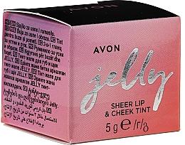 Parfums et Produits cosmétiques Avon Jelly Sheer Lip & Cheek Tint - Gelée teintée pour lèvres et joues