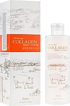 Parfums et Produits cosmétiques Lotion tonique au collagène - Esfolio Collagen Daily Toner