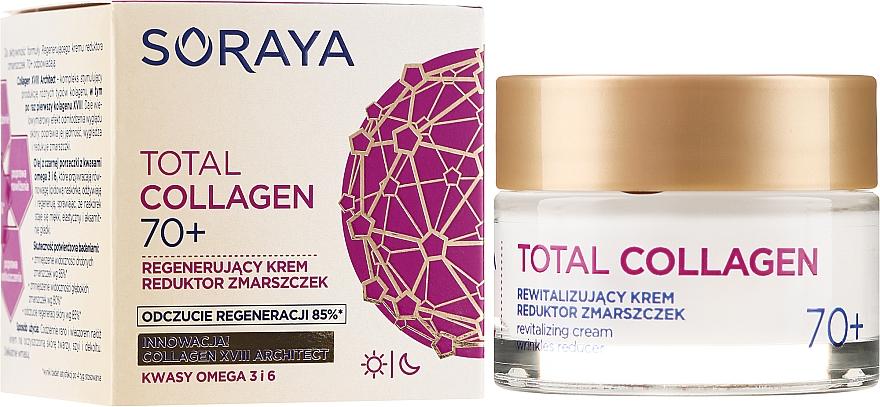Crème de jour et nuit aux acides oméga 3&6 - Soraya Total Collagen 70+