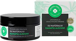 Parfums et Produits cosmétiques Crème à l'huile de chanvre pour visage et corps - Green Feel's Universal Face And Body Cream
