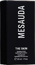 Parfums et Produits cosmétiques Fond de teint hydratant, fini lumineux - Mesauda Milano The Skin Luminous Finish Hydrating Foundation