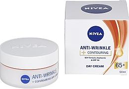 Parfums et Produits cosmétiques Crème de jour à l'extrait de soja, SPF 30 - Nivea Anti-Wrinkle Contouring Day Care 65+