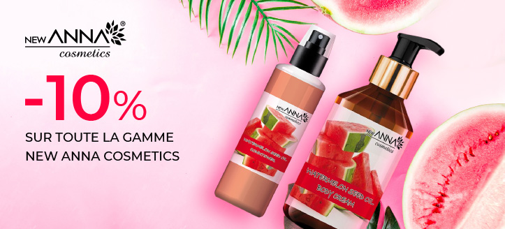 Promotion de New Anna Cosmetics