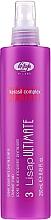 Parfums et Produits cosmétiques Spray fluide thermo-protecteur à la kératine pour les cheveux - Lisap Milano Lisap Ultimate 3 Straight Fluid Spray