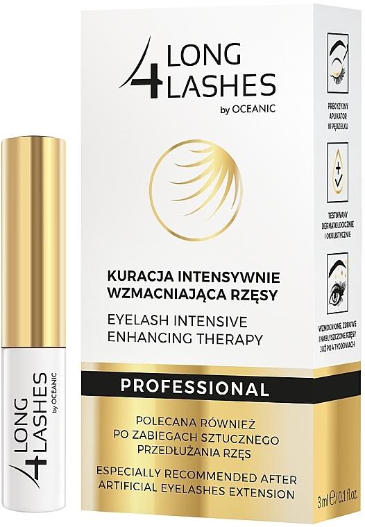 Traitement à l'huile d'amande douce pour cils - Long4Lashes Eyelash Intensive Enhancing Therapy