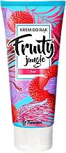 Parfums et Produits cosmétiques Crème pour mains, Litchi - Farmapol Fruity Jungle Hand Cream