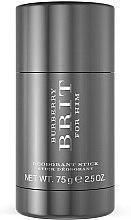 Parfums et Produits cosmétiques Burberry Brit for men - Déodorant stick