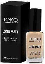 Parfums et Produits cosmétiques Fond de teint matifiant - Joko Long Matt