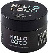 Poudre dentaire au charbon actif - Hello Coco Sweet Mint Activated Natural Charcoal Teeth Whitener — Photo N2