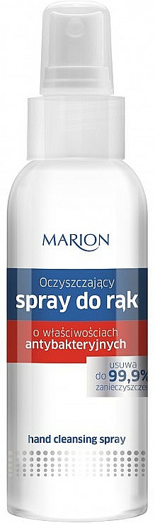 Spray antibactérien pour mains - Marion Antibacterial Hand Cleansing Spray