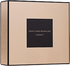 Parfums et Produits cosmétiques Cristiano Ronaldo Legacy - Coffret (eau de toilette/30ml + gel douche/150ml)