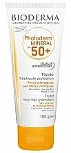 Parfums et Produits cosmétiques Fluide solaire pour visage et corps - Bioderma Photoderm Mineral Fluid SPF 50+