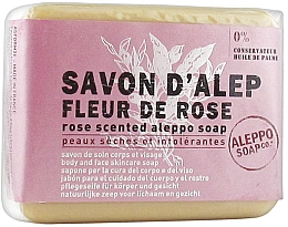 Parfums et Produits cosmétiques Savon d'Alep pour visage et corps, Rose - Tade Aleppo Rose Flower Scented Soap
