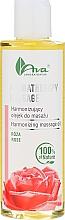 Parfums et Produits cosmétiques Huile corporelle à la rose - Ava Laboratorium Aromatherapy Massage Harmonizing Massage Oil Rose