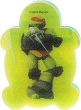 Parfums et Produits cosmétiques Éponge de bain pour enfant, Tortues ninja adolescentes, Michelangelo 4 - Suavipiel Turtles Bath Sponge