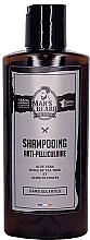 Parfums et Produits cosmétiques Shampooing à l'huile d'arbre à thé et à l'acide citrique - Man'S Beard Anti-Dandruff Shampoo Sulphate Free