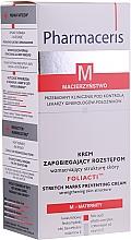 Parfums et Produits cosmétiques Crème anti-vergetures à l'huile de coton et acide folique - Pharmaceris M Foliacti Stretch Mark Prevention Cream