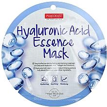 Parfums et Produits cosmétiques Masque tissu de collagène à l'acide hyaluronique pour visage - Purederm Hyaluronic Acid Essence Mask