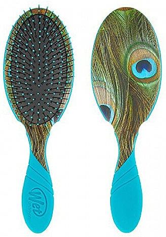 Brosse démêlante - Wet Brush Pro Detangler Free Sixty Peacock — Photo N1