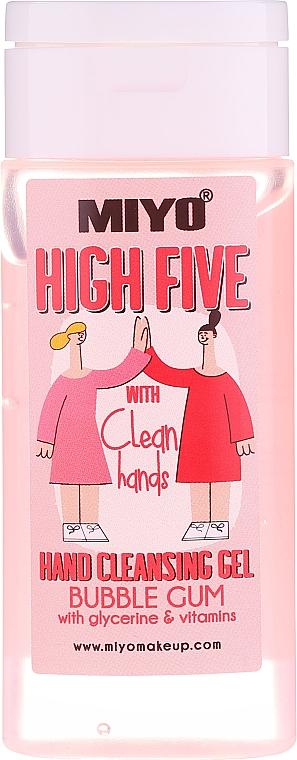 Gel nettoyant pour mains - Miyo Bubble Gum High Five Hand Cleansing Gel — Photo N1