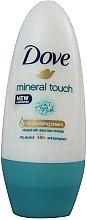 Parfums et Produits cosmétiques Déodorant roll-on sans alcool - Dove Mineral Touch Deodorant Roll-On