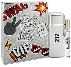 Parfums et Produits cosmétiques Carolina Herrera 212 VIP Gift Set 2 - Coffret (eau de toilette/100ml + eau de toilette mini/10ml)