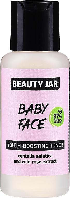 Lotion tonique à la centella asiatica et rose sauvage - Beauty Jar Baby Face Youth-Boosting Toner